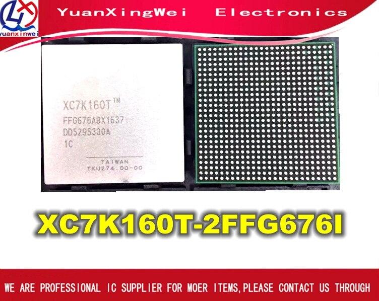 Free Shipping 1pcs XC7K160T-2FFG676I XC7K160T-2FFG XC7K160T IC FPGA 250 I/O 676FCBGA New and Original 1pcs xc3s1600e 5fg484c xc3s1600efg484 ic fpga 376 i o 484fbga bga in stock 100%new and original