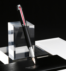 Image 2 - Hero 200E 14K Gold Collection Fountain Pen Matte Black / Gray Golden / Silver Clip Fine Nib Gift Pen and Box for Business Office