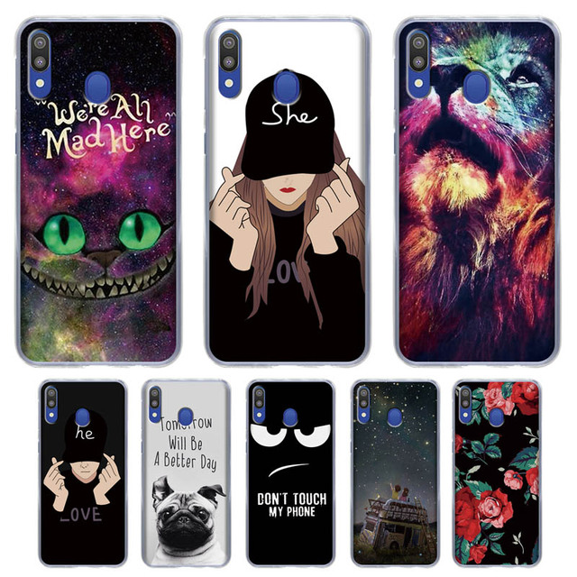00a24ac210 For Samsung Galaxy M20 Case Silicone TPU Full Protective Cover Phone Case  For Samsung M20 M205F M205 M 20 SM-M205F Case Cover