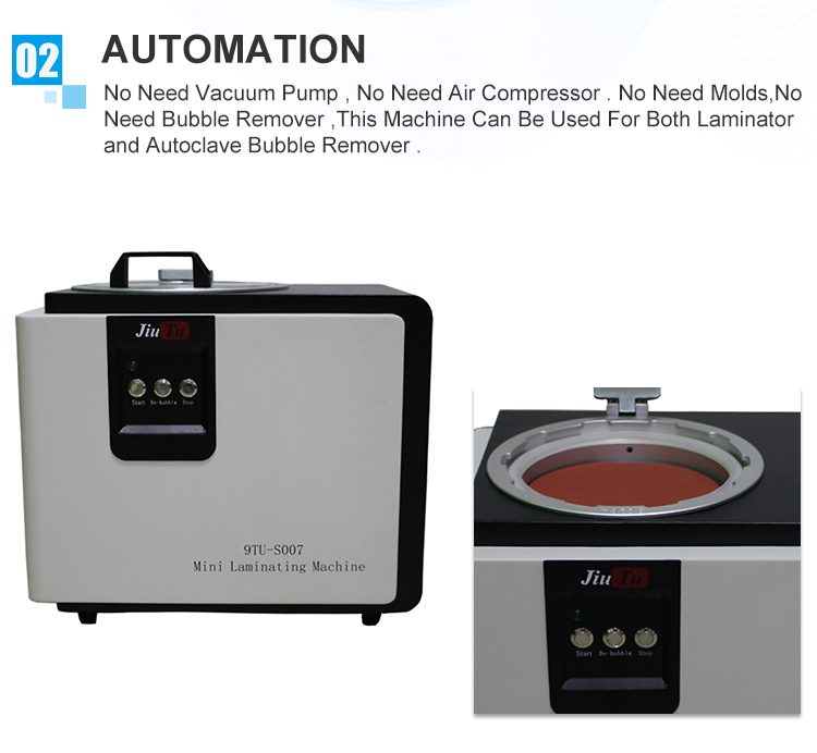 9TU-S007 LCD Touch Screen Repair Automatic Bubble Removing Machine (4)