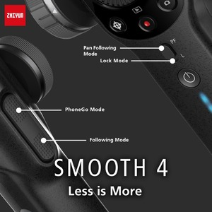 Image 3 - Zhiyun Smooth 4 Vlog Live 3 Axis Handheld Smartphone Gimbal Stabilizer for iPhone Xs Max X 8 7& Samsung S9,S8 7 Action Camera