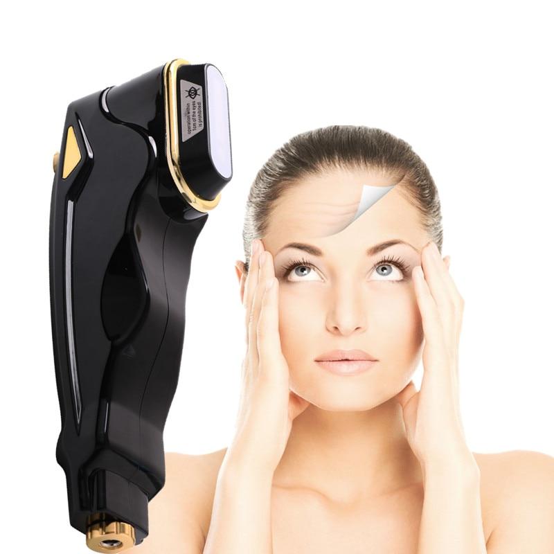 Home Mini Hifu Face Lifting RF LCD High Intensity Focused Ultrasound Ultrasonic Wrinkle Removal Focused Hifu Beauty Instrument