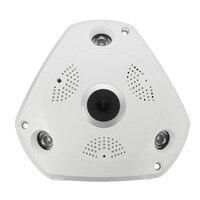 NEW 360 Degree P2P Wireless CCTV Home Security System 960P PTZ IP Network Camera Cam Home