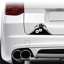 Grappig Gluren Monster Auto Sticker Muren Windows Grafische Vinyl Auto Stickers Auto Stickers Auto Styling Accessoires(China)