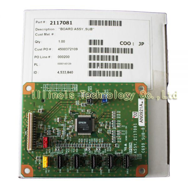F186000/DX4/DX5/DX7 Stylus Pro 7880 Right Board printer parts dx3 dx4 dx5 dx7 1390 carriage printer parts