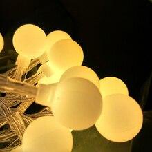 Romantic Valentine's Day 40LED 4M Battery Creative Novelty Ball String Lights Decoration Lighting Home Garden Park  Luz De Bola