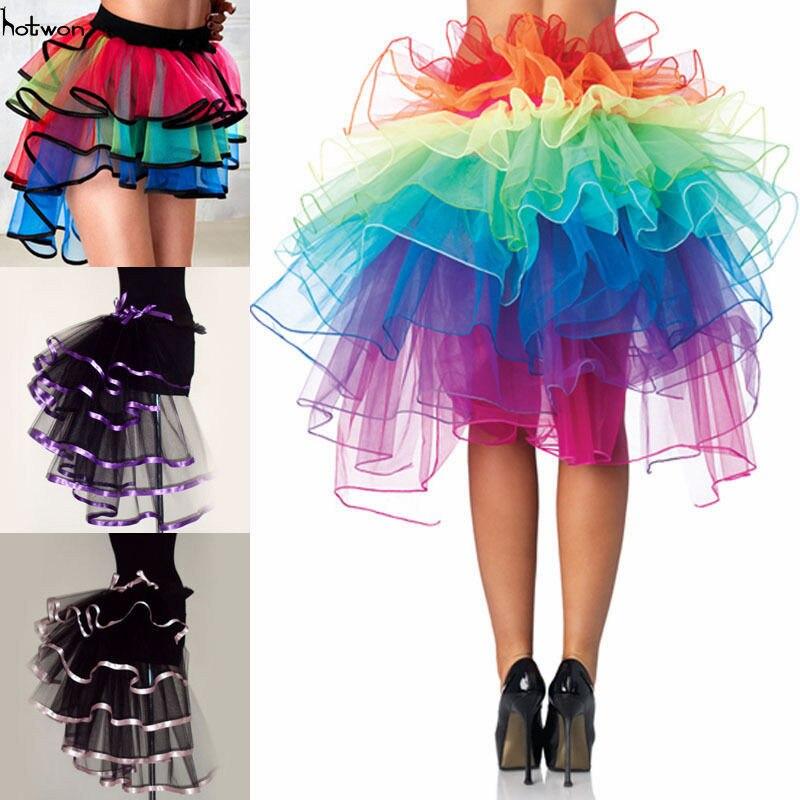 Halloween Christmas Party Women's Sexy Costume Ball Party Petticoat Tutu Skirt Underskirt Fancy Skirt