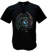 Cosmos / Milky Way Turntable Men's T-shirt