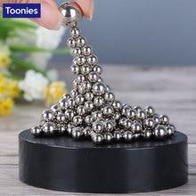 171 Pieces /Box Magnetic Balls Creative DIY Metal Craft Balls Sculpture Figurines Children's Gifts Home Decoration Accessories