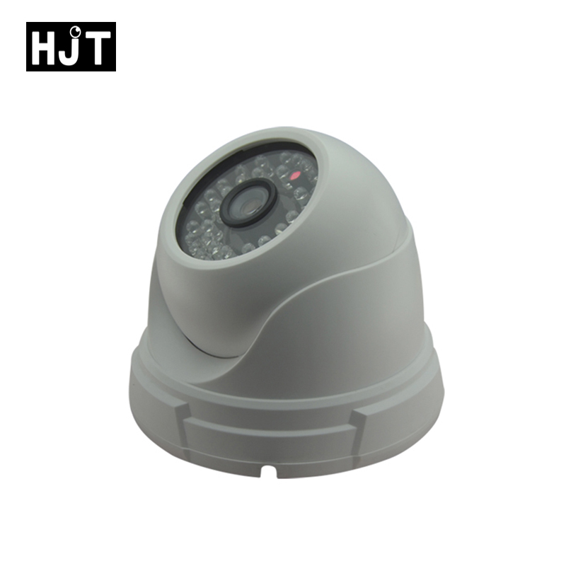 Audio POE P2P HD 960p 1.3mp IP Camera Plastic Dome 48pcs LEDs Indoor Security Network Camera Support Phone Freeshiping