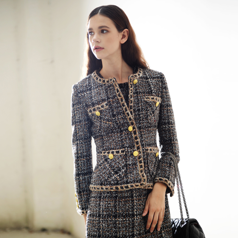 Popular Tweed Jackets-Buy Cheap Tweed Jackets lots from China ...