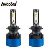 Avacom S2 Plus H4 H7 LED Car Headlight H1 H3 H11 9004 9005 9006 9007 80W