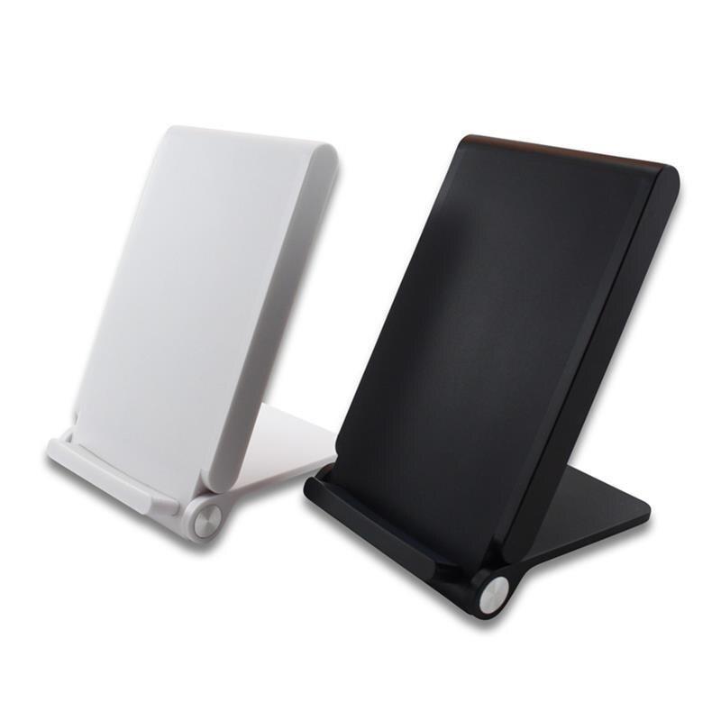 Qi 3 bobines chargeur sans fil Pad pliant support de chargement Station d'accueil pour Samsung Galaxy S6 S7 Edge Plus Note 5 Lg G3 Charge de téléphone