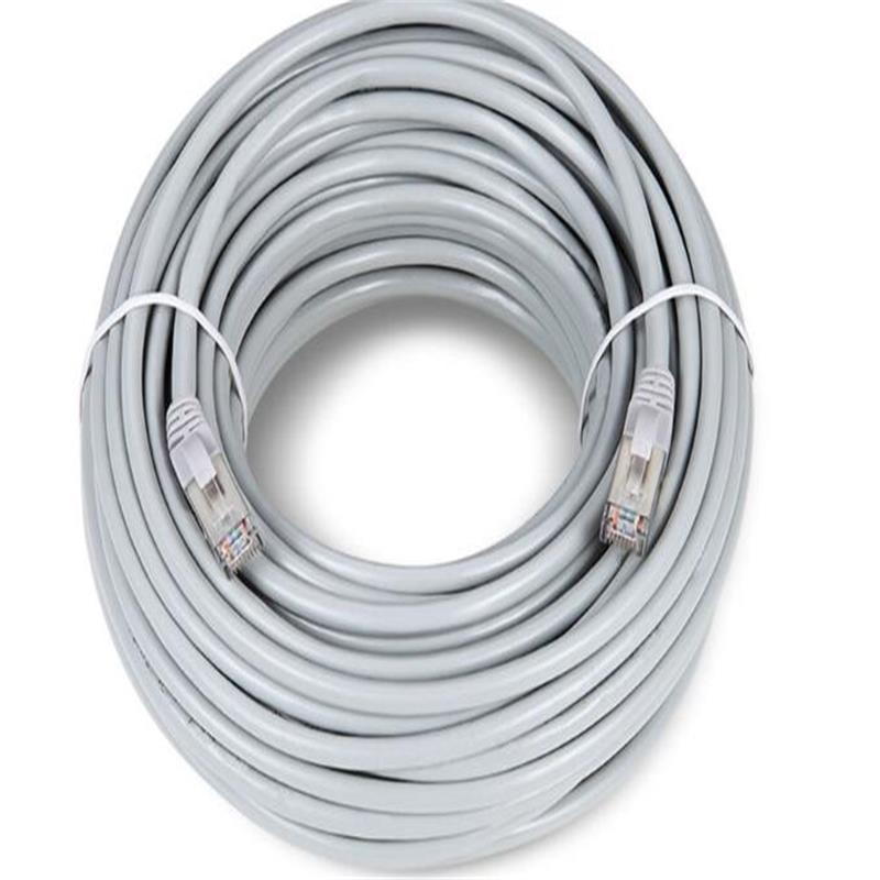 Internet Ethernet Câble 10 M 20 m 30 M UTP Chat Réseau bracelet trèfle Mâle à Mâle Patch Connecteur Pour ordinateur pc câbles et Connecteurs