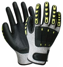 Anti Vibration Gloves Shock Absorbing Working Gloves Vibrastop Anti-Vibration Full Finger Gloves Impact Resistant Work Gloves цена