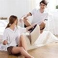 BANYAN Marca Pijama Fijado Para la pareja Homewear Pijamas Ocasionales para los hombres de Punto de algodón mujeres de los pijamas onesie pijama pantalones cortos 2017 Nuevo