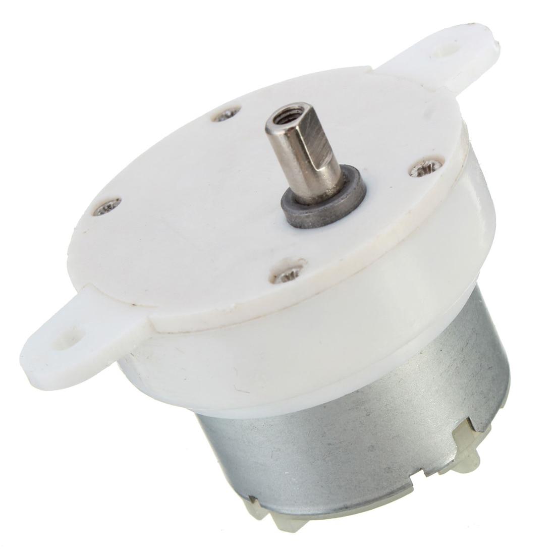 Высокий крутящий момент 12 в двигатель постоянного тока медленный малоскоростной электродвигатель/коробка передач 3 об/мин 4 мм диаметр