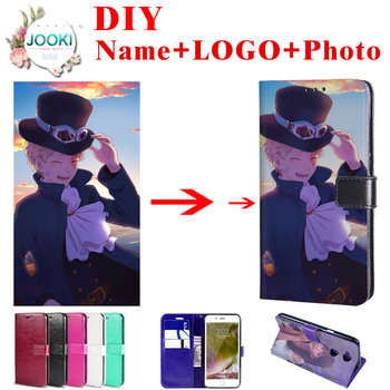 Zenfone 6z DIY Customized Cover For Asus Zenfone 6 ZS630KL Wallet Leather Case For Asus Zenfone 6 2019 Flip Cover