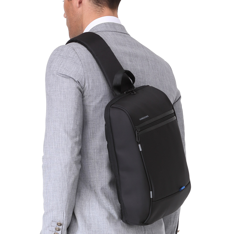 Image 5 - Kingsons 13.3 inch Anti theft USB Charging Messenger Chest Bag  Wateproof Single Shoulder Laptop Backpack for Men Womenlaptop  backpack13.3 inchbackpack for laptop