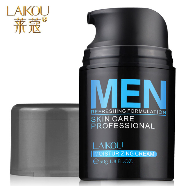Lai Kou Men Whitening Moisturizing Cream Marine collagen shrink pores brightens complexion aging Cream