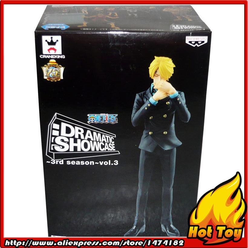 100% Original Banpresto DRAMATIC SHOWCASE 3rd Season Vol.3 Collection Figure - Sanji from One Piece original banpresto dramatic showcase 4th season vol 1
