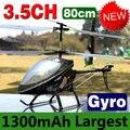 Grande Helicóptero RC 80 CM 4CH DH9101 pronto para voar de Metal giroscópio de rádio controle remoto brinquedos de Super resistência a cair, cool designs