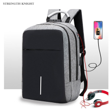 Multifunction Men Laptop Backpack USB Charge School Backpack Large Capacity Mochila Casual Male Travel Bag 2018 new pu leather tidy usb charge teenage backpack large capacity anti theft backpack laptop bag male school travel men 30