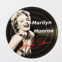 38cm Marilyn Monroe/Audrey Hepburn Vintage Home Decor Beer Drinking Hot Dog Pub Vintage Plate Garage Pub Bar Home Wall Decor
