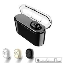 ACCALIA Brand  Sports Fashion Casual Wireless Bluetooth Headset  Black Cordless Headset Arbuds Unisex Business Headset