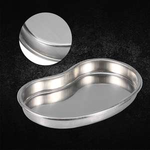 Image 1 - Cosmetic  Disinfection Stainless Steel Pan Bending Plate Accessories  Tools Tattoo Tray Body Art Container