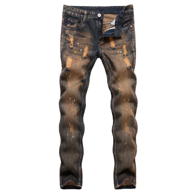 Envío libre barato descuento Vaqueros moda estilos Pantalones