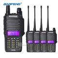 4pcs Baofeng UV-5S Walkie Talkie VHF UHF 136.00-174.00 MHz / 400.00-520.00MHz Waterproof IP67 Two Way Radio 2800mAh Battery