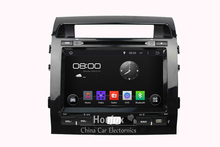 Android 5.1.1 Headunit Quad core DVD For Toyota Land cruiser prado 120 2007-2011 with HD 1024X600 CAR Navigation GPS Radio