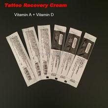 Tattoo Supplies 50pcs/lot Tattoo Recovery Cream Vitamin A+Vitamin D Ointment Top Tattoo Repairing Cream Shipping
