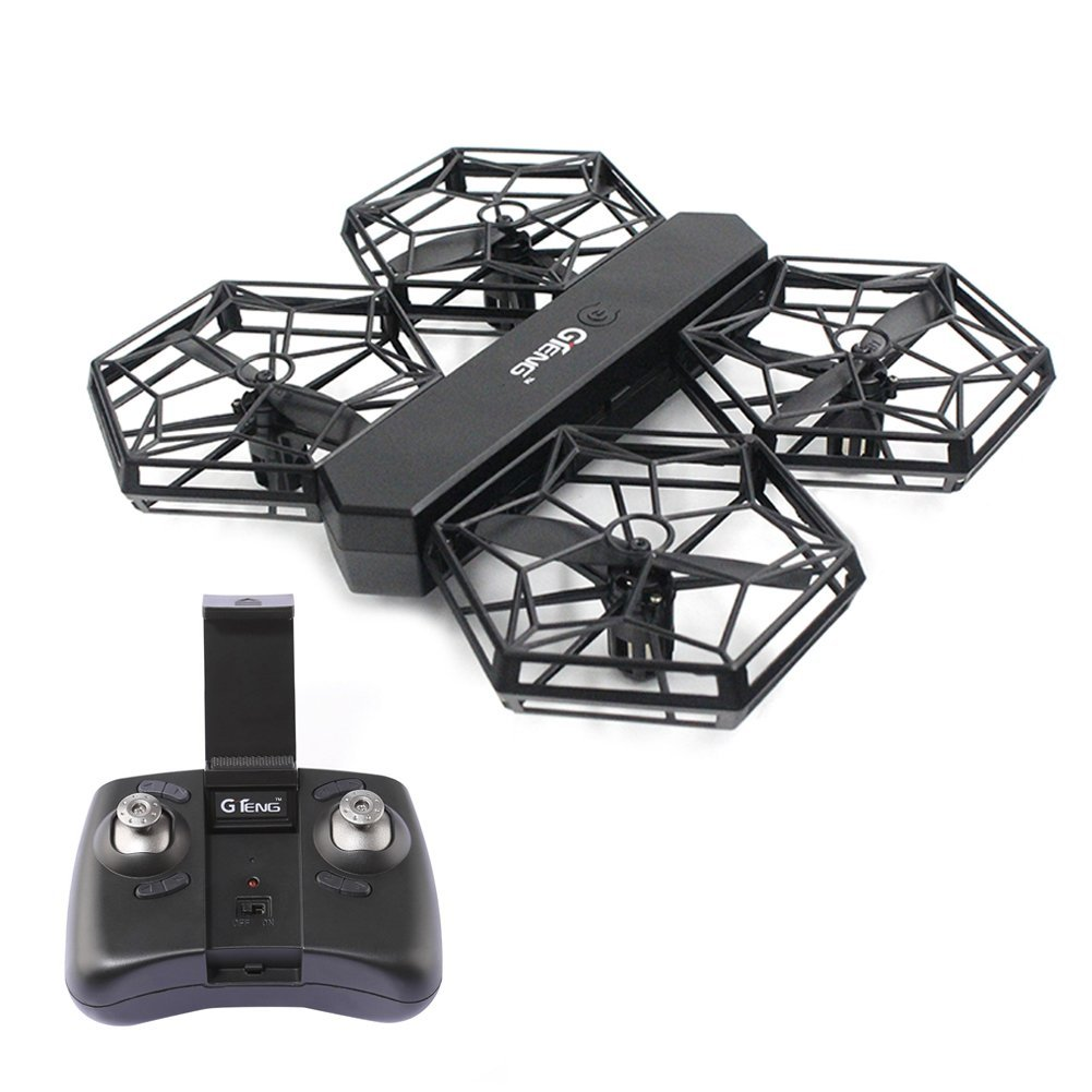 GTENG T908W DIY Assembly Blocks RC Portable Drone WIFI FPV With 0.3MP HD Camera Altitude Mode Headless Mode RC Quadcopter RTF rc drones quadrotor plane rtf carbon fiber fpv drone with camera hd quadcopter for qav250 frame flysky fs i6 dron helicopter
