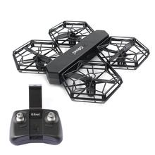 GTENG T908W DIY Assembly Blocks RC Portable Drone WIFI FPV With 0.3MP HD Camera Altitude Mode Headless Mode RC Quadcopter RTF(China)