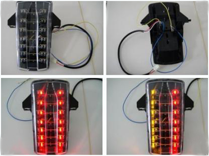 Motorcycle LED Tail Light ABS Injection For <font><b>Suzuki</b></font> SV650 <font><b>SV1000</b></font> <font><b>2003</b></font> 2004 2005 2006 <font><b>2007</b></font> [TL25] image