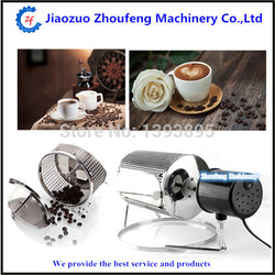 Coffee roaster machine electric stainless steel home use coffee bean roaster baking seeds nuts 110v or220v  ZF