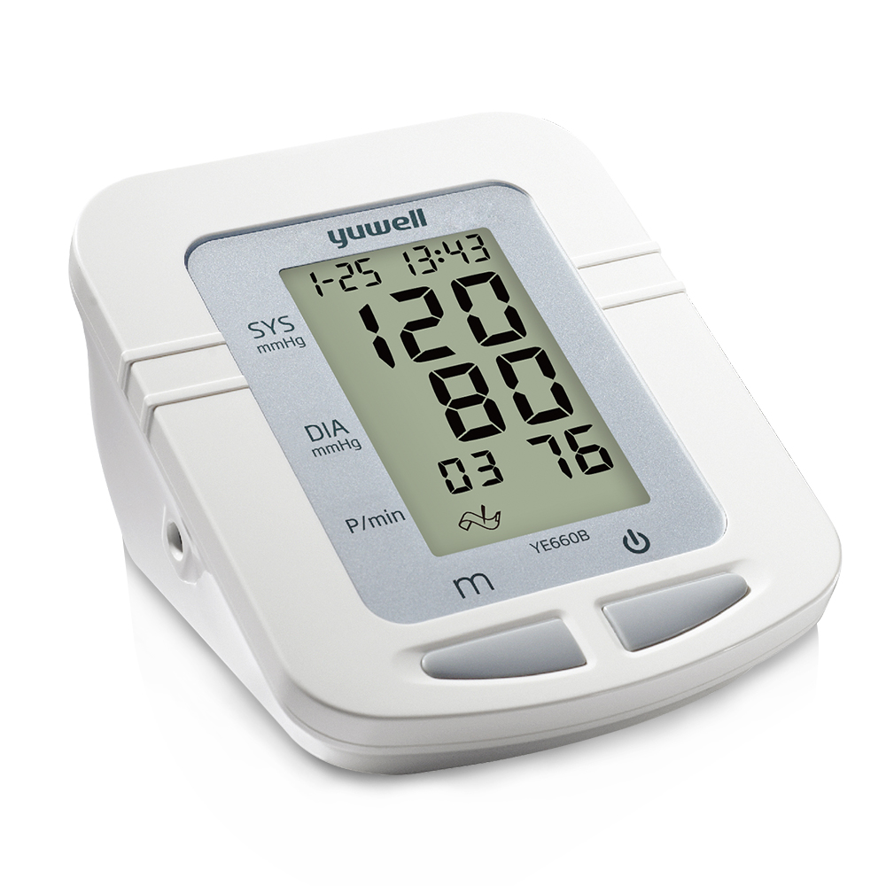Image 3 - Yuwell 660B Arm Blood Pressure Monitor Large LCD Cuff Medical Nurse Device Sphygmomanometer Blood Pressure Home Health Dector-in Blood Pressure from Beauty & Health