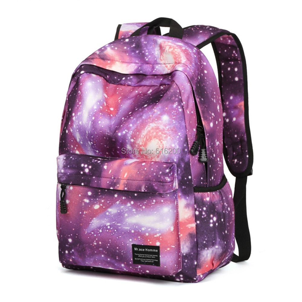 Bags for school on sale - Hot Sale Stars Galaxy Backpack Unisex School Travel Bag Computer Laptop Rucksack Shoulder Bags For Teens Girls In Backpacks From Luggage Bags On