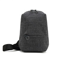 New Male Chest Bag Fashion Leisure Waterproof Man Oxford Cloth Korea Style Messenger Shoulder Bag For