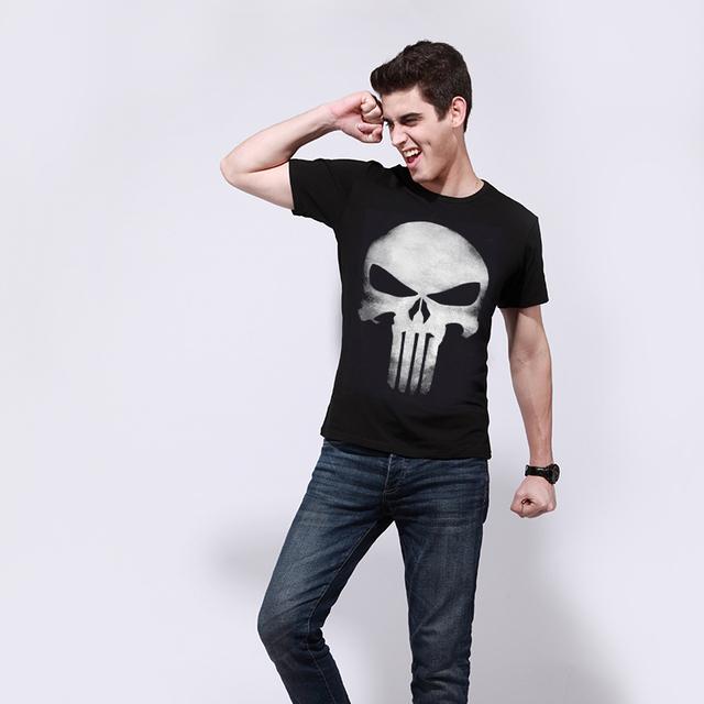 T-shirt Men Iron Maiden Brand 3D Style 2016 Heavy Metal Streetwear Men's Tshirt Cotton Casual Short Sleeves Top Tees t shirt