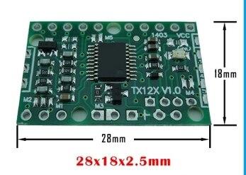 2PCS LOT TX126L RFID 125khz serial reading board