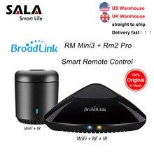 Broadlink Mini3 RMPRO + RM33 uniwersalny inteligentny pilot inteligentna automatyka domowa WiFi IR przełącznik rf dla IOS telefon z systemem android