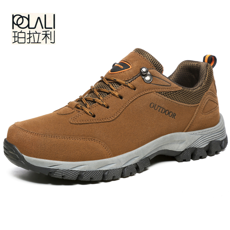 49-Fashion Shoe Sneakers Comfortable Outdoor Spring/autumn Big-Size Mens Lace-Up Flock