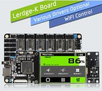 LERDGE 3D Printer Board ARM 32Bit Controller Motherboard 3D Printer Control Mainboard with 3.5 TFT Touch Screen Fast delivery