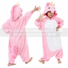 new costume child my little pony pink blue unicorn onesies girls boys animal cosplay pajamas pyjama halloween costume for kids