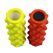 32*10cm Multicolor PU hollow yoga column/Yoga roller for Fitness and Body building