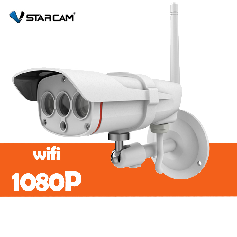 Vstarcam C16S HD 1080P Wifi IP Camera Waterproof IP67 Outdoor Wireless 2mp IP Camera Wireless IR-Cut support 128G TF Card (New) vstarcam c7815wip 720p hd wireless bullet wifi ip camera outdoor security waterproof cctv compatibility and support 128g tf card