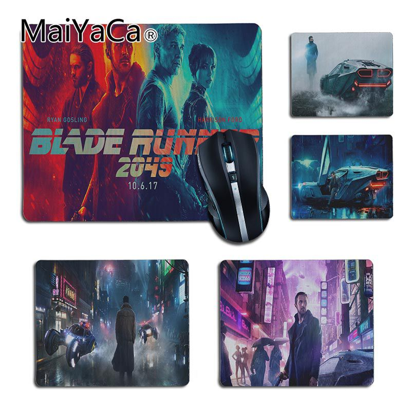 MaiYaCa Hot Sales Blade Runner 2049 Movie Rubber Mouse Durable Desktop Mousepad Gaming Durable PC Anti-slip Mouse Mat Anime